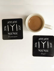 Ertugrul Kayi Tribe Symbol Table Coaster Mats with Cork base Bee Free Prints