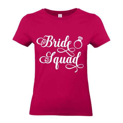 Pre-Design Ladies' Bride Squad T-Shirt 2XL / SorbetBee Free Prints