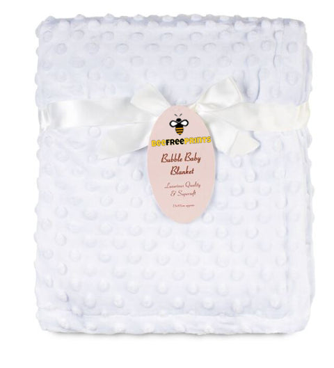 Personalised Baby Blanket Bubble Blanket Super Soft
