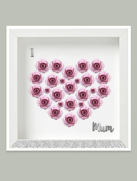 'I Love Mum' Frame Bee Free Prints