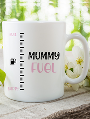 Mother's Day 'Mummy Fuel' Mug Bee Free Prints