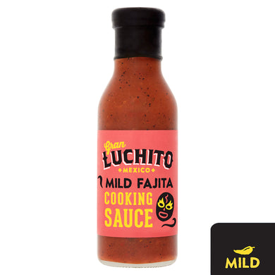 Gran Luchito Roasted Red Pepper Mild Fajita Cooking Sauce - 380g