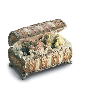 Lladro Flower Chest 01001572