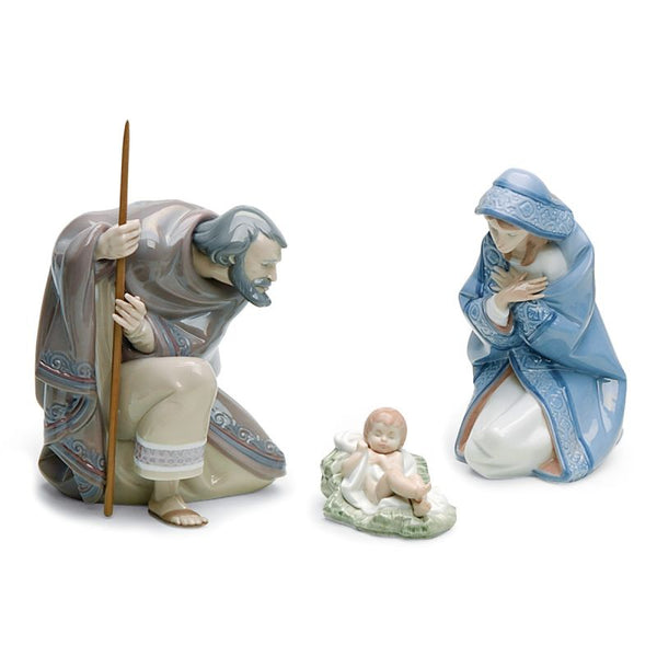 Lladro Silent Night Set 01007804
