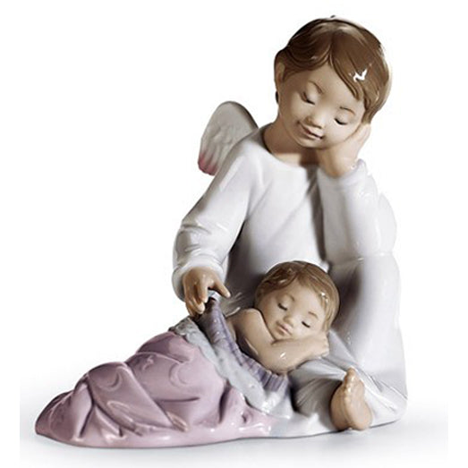Lladro My Guardian Angel (Pink) 01008549