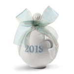 Lladro 2018 Christmas Ball Blue 01018434