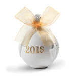 Lladro 2018 Christmas Ball Re-Deco Gold 01018435