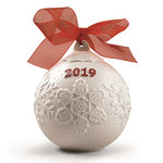 Lladro 2019 Christmas Ball (Re-Deco Red) 01018445
