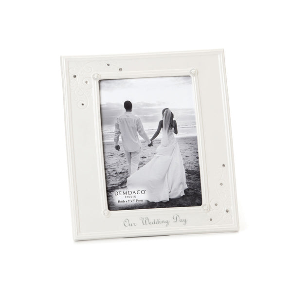 Demdaco Our Wedding Day Frame 5X7 102678