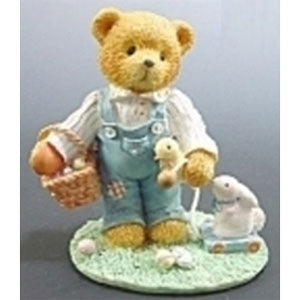 Cherished Teddies Donald W-Bunny Pull Toy 103799