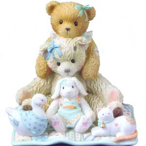 Cherished Teddies Chrissy And Friends 114124