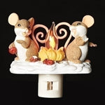 Charming Tails Mice by Campfire Nightlight 131122
