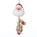 Charming Tails Mouse with Santa Head 2018 Dated Orn 131630