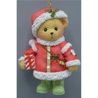 Cherished Teddies 2018 Santa Ornament 132071 PRE-ORDER!