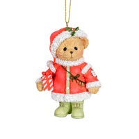 Cherished Teddies 2018 Santa Ornament 132071