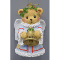 Cherished Teddies 2018 Annual Angel Bell Ornament 132072 PRE-ORDER!