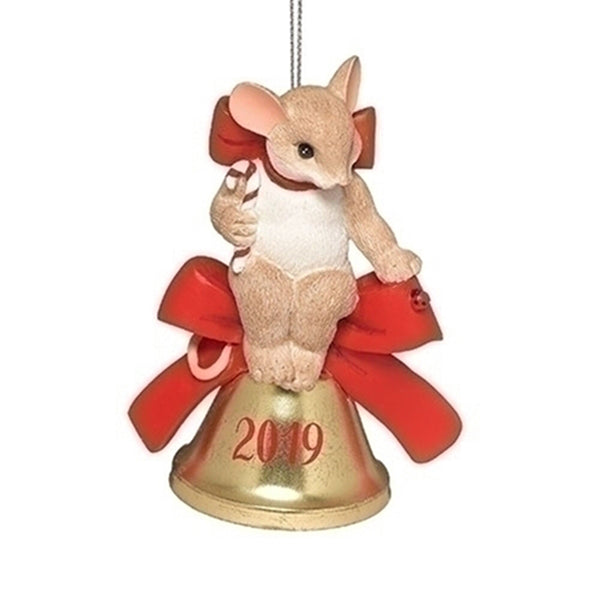 Charming Tails 2019 Annual Dated Ornament 132093