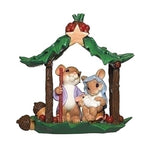 Charming Tails Holy Family Figurine 132105