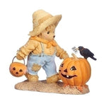 Cherished Teddies Tommy w/Pumpkin 132853