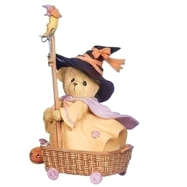 Cherished Teddies Diana Wheel Basket 132854