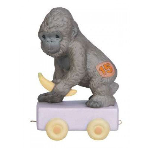 Precious Moments Birthday Train Gorilla Age 15 142035