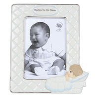 Precious Moments Baptized In His Name Photo Frame - Boy 143401