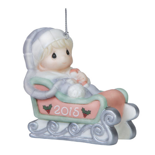Precious Moments Baby's First Christmas (Boy) Orn 151006