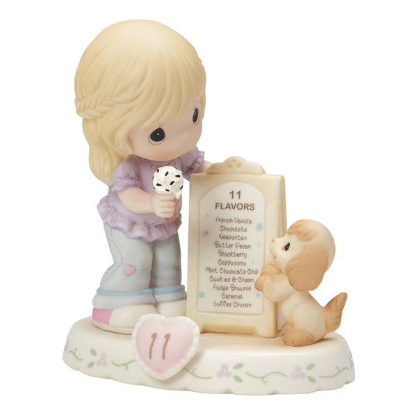 Precious Moments Growing In Grace Age 11 Blonde 154038