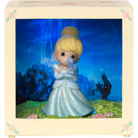 Precious Moments Cinderella - Led Shadow Box 164111