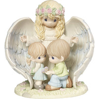 Precious Moments Guardian Angel With Children Limited 173001