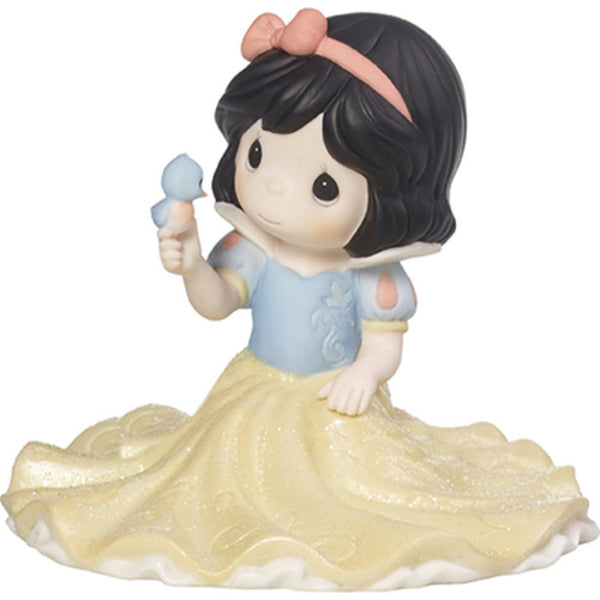 Precious Moments Disney Girl As Snow White Life Goes Along With A Smile - Girl 173093