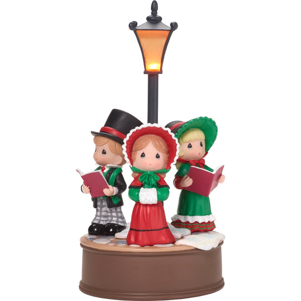 Precious Moments Victorian Carolers LED Musical 181104