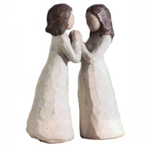 Willow Tree Sisters By Heart Set of 2 26023