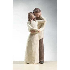 Willow Tree Together - Loving Couple 26032