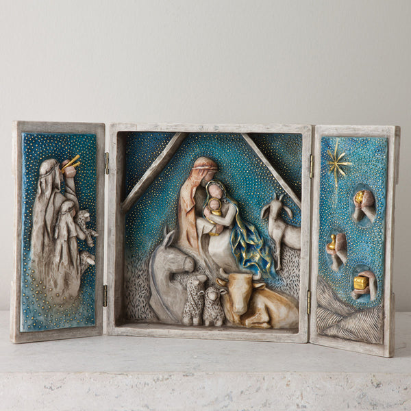 Willow Tree Starry Night Nativity 27370