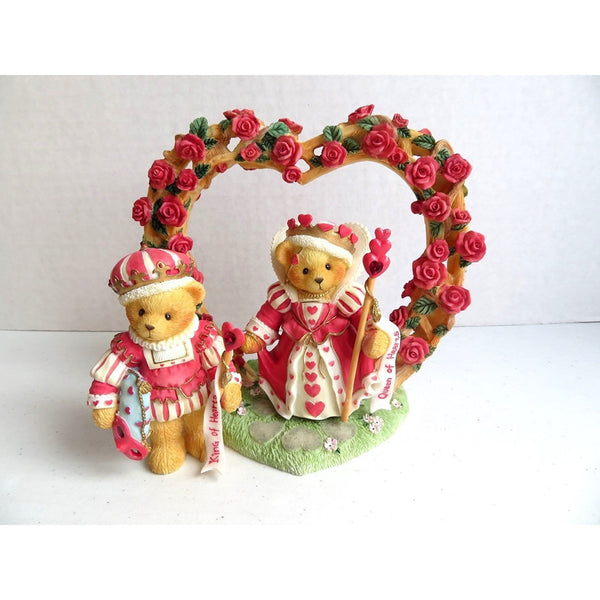 Cherished Teddies Harry & Katherine-You're The Queen-King 302732