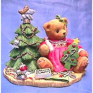 Cherished Teddies Lynn - With Star Treetopper 310735A