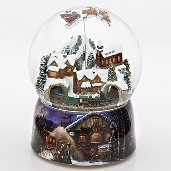 Chrismas Rotating Musical Waterglobe 37753