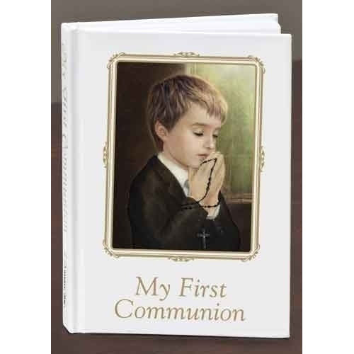 Communion Book - Boy 40008
