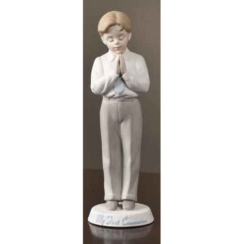 Communion Figurine - Boy 40058