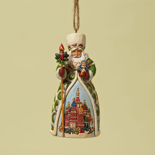 Jim Shore Russian Santa Ornament 4022942