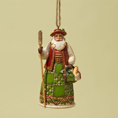 Jim Shore Italian Santa Ornament 4022944