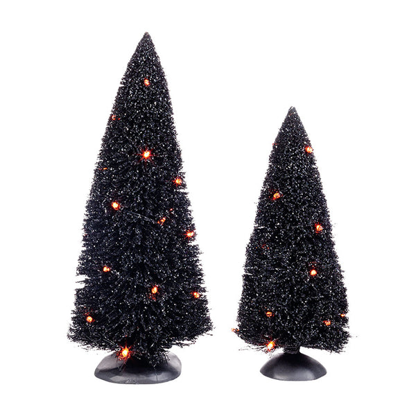 D56 Halloween Lit Sisals, Set of 2 4038917