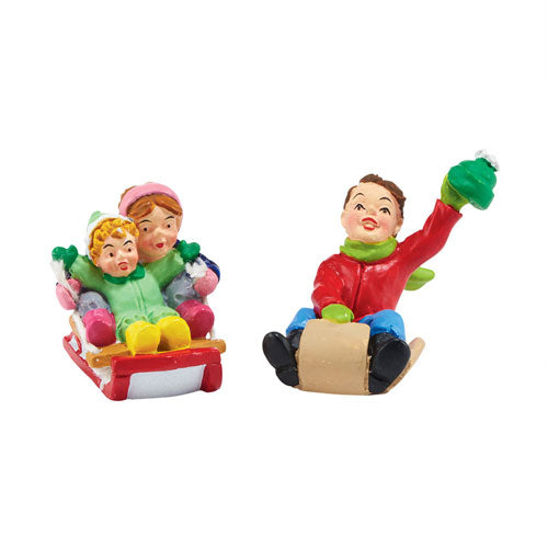 D56 White Pines Thrill Seekers Set of 2 4047544