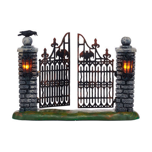 D56 Spooky Wrought Iron Gate 4047599