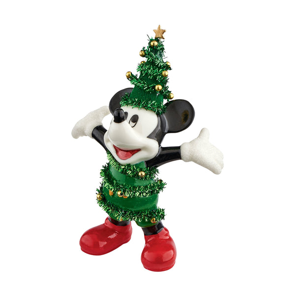 D56 Spruce Up For Christmas Mickey 4051783