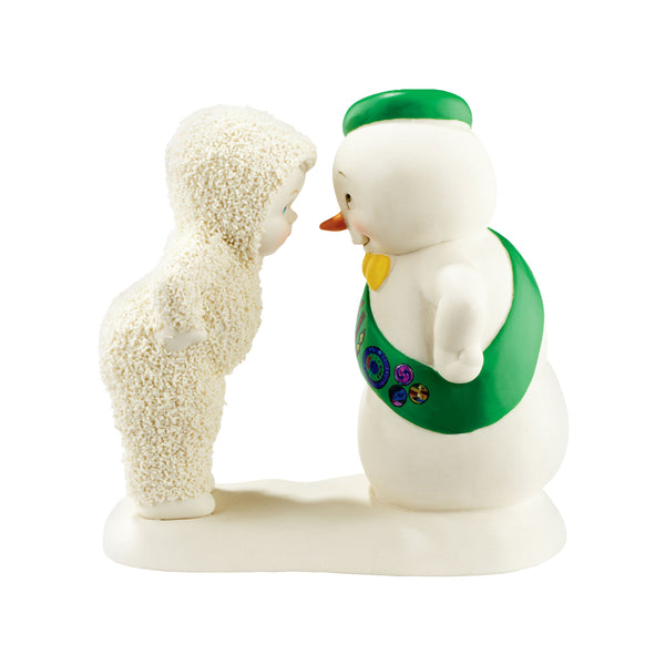 Snowbabies Girl Scout Snow Friend 4051846