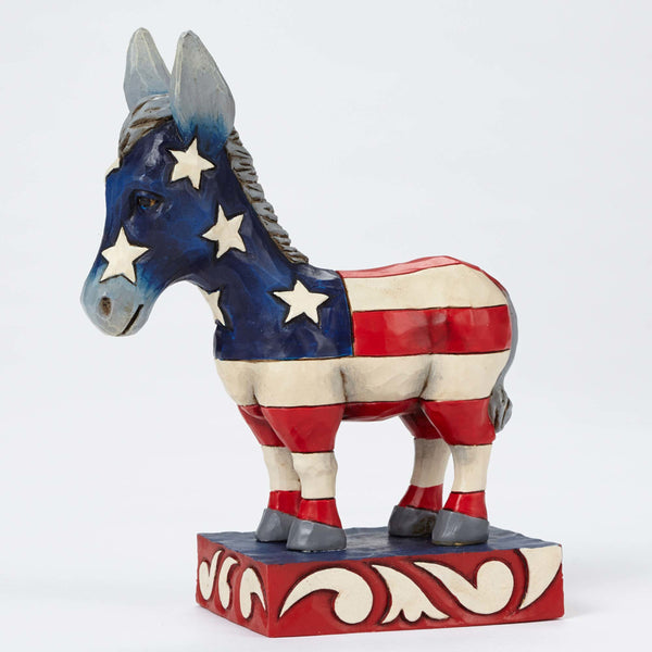 Jim Shore Patriotic Donkey 4052078