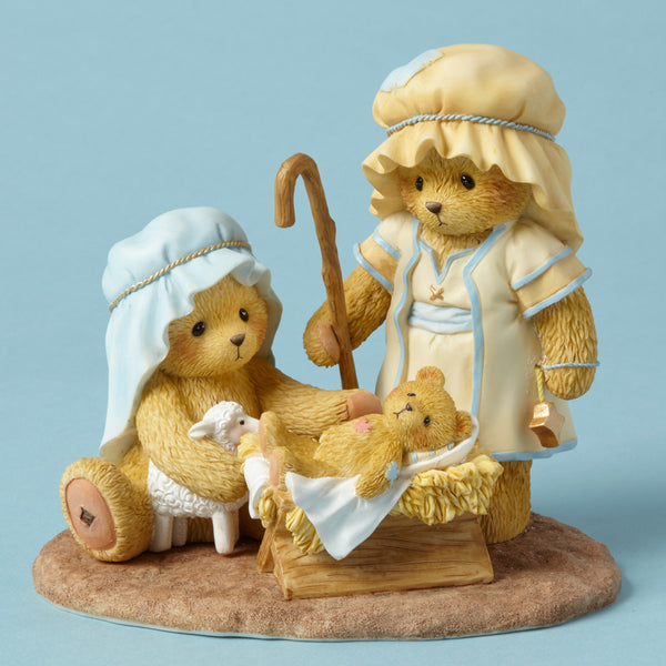 Cherished Teddies Filled With Wonder, Touched By Peace 4053474