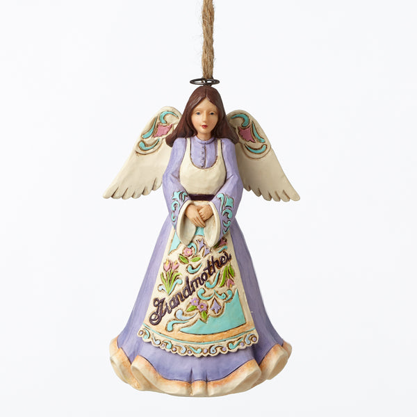 Jim Shore Grandmother Angel Ornament 4053845